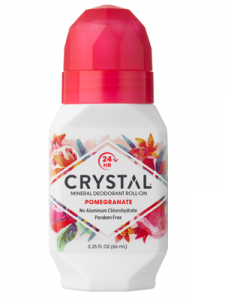 Дезодорант Crystal Deodorant Roll-On, 66ml: Pomegranate (c экстрактом граната)